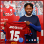 NEW SIGNING: Shots Sign Anderson!