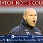 Danny Searle Post-Match: Notts County (A)