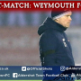 Danny Searle Post-Match: Weymouth FC (H)