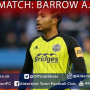 Harrison Panayiotou Post-Match: Barrow A.F.C. (A)