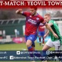 Josh Rees Post-Match: Yeovil Town (A)
