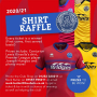 SHIRT RAFFLE: A number of player match shirts from our 2020/21 season are now available through our latest raffle!