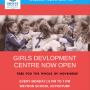 GIRLS DEVELOPMENT CENTRE: The Club are delighted to confirm details for our Girls Development Centres!