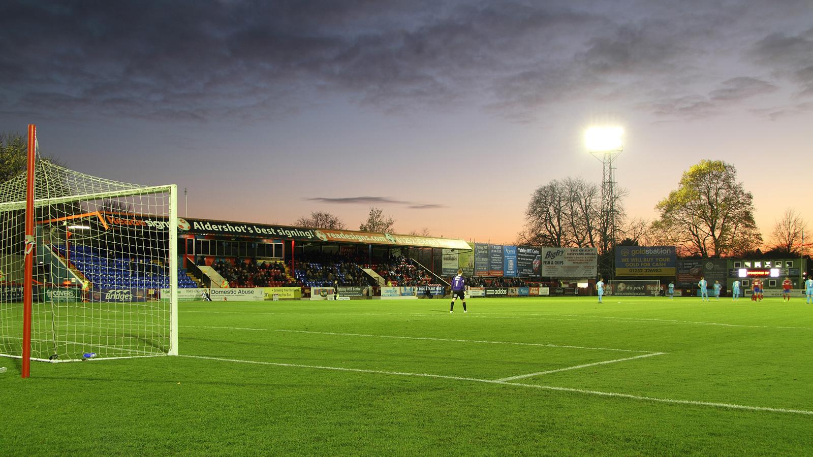 Match Day Tickets Aldershot Town Fc