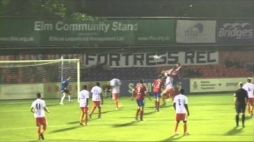 Match Highlights: Aldershot Town 1-3 Braintree Town