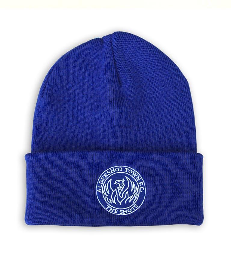 ... Embroidered Beanie Hat Navy. £10.00