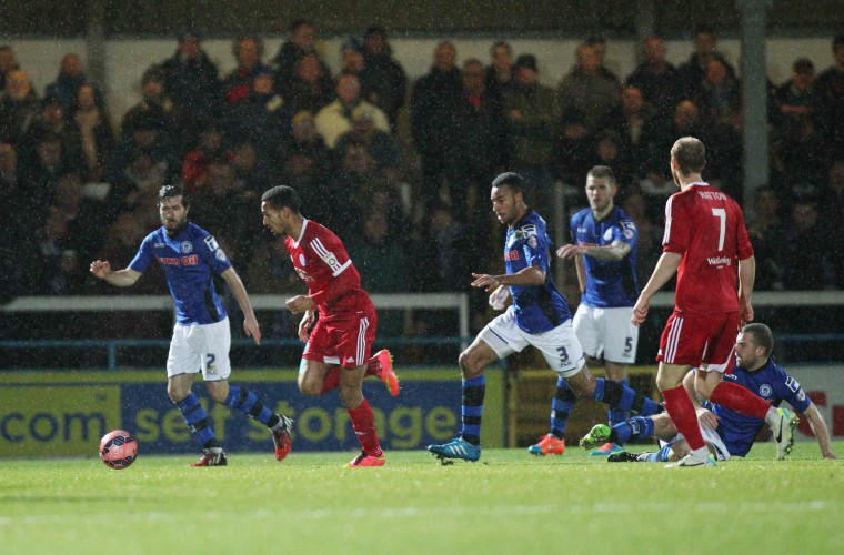 rochdale v atfc fa cup replay 2