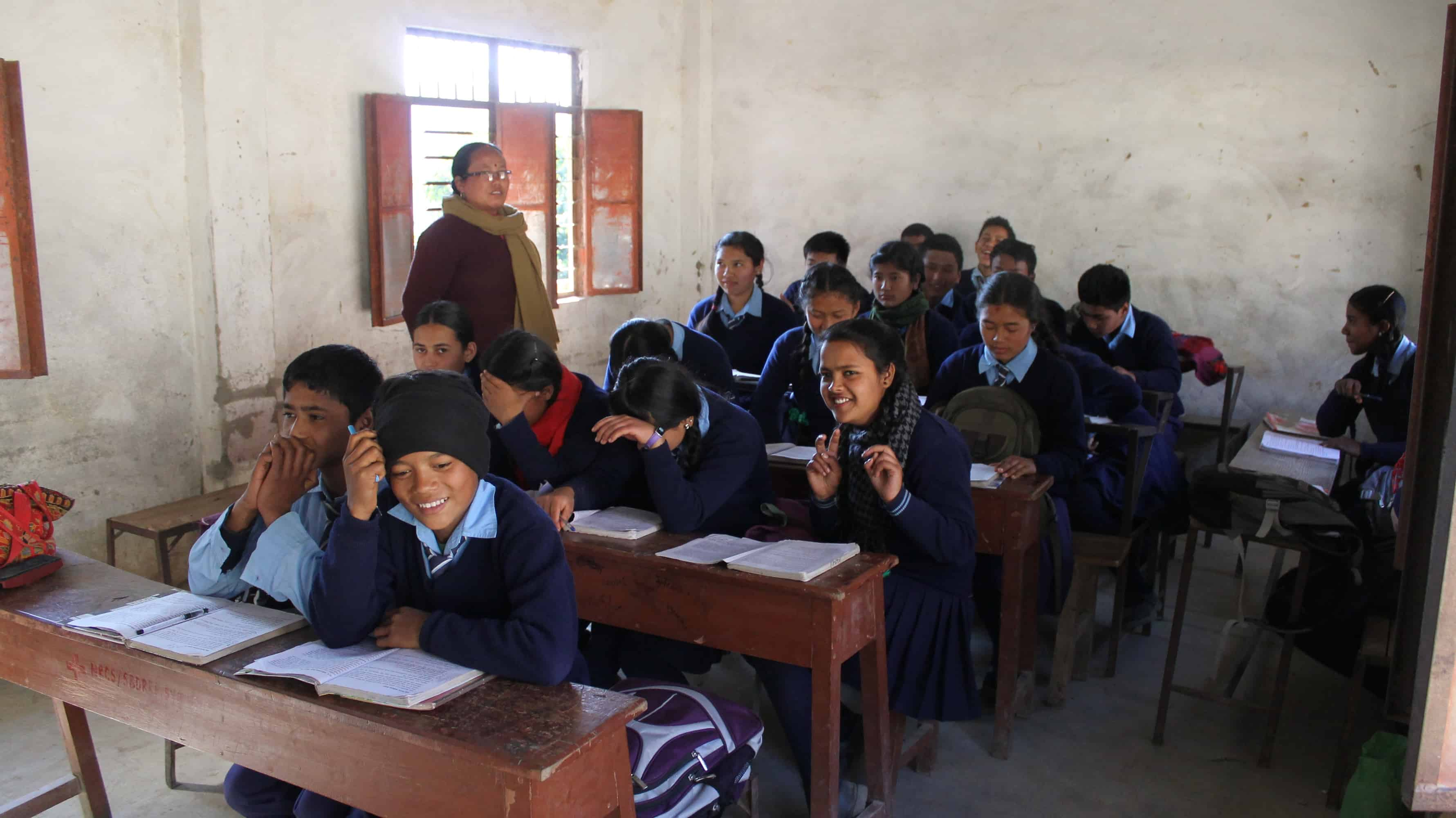 Classroom at Bhanjyang School