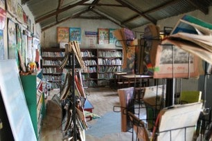Library at Rangbhang School