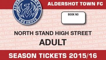 Season Ticket 15-16