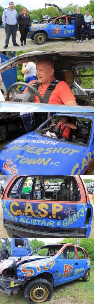 Stock car montage