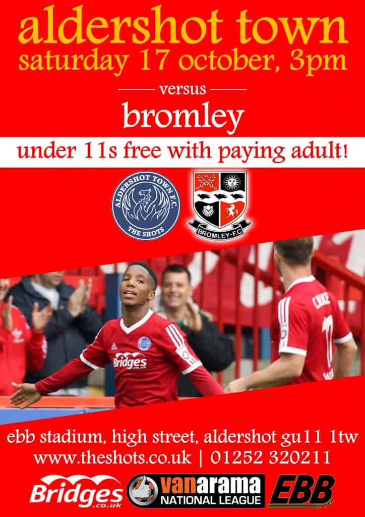 Bromley match poster
