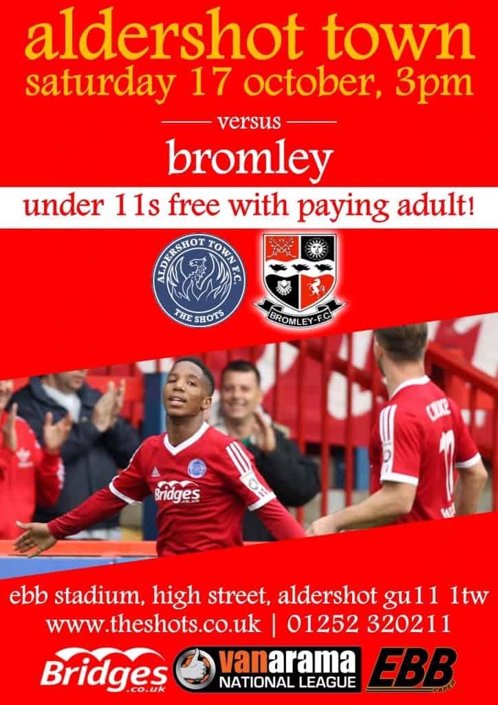 Bromley match poster