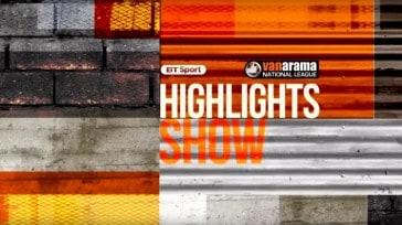 BT Sport National League Highlights 22 Nov
