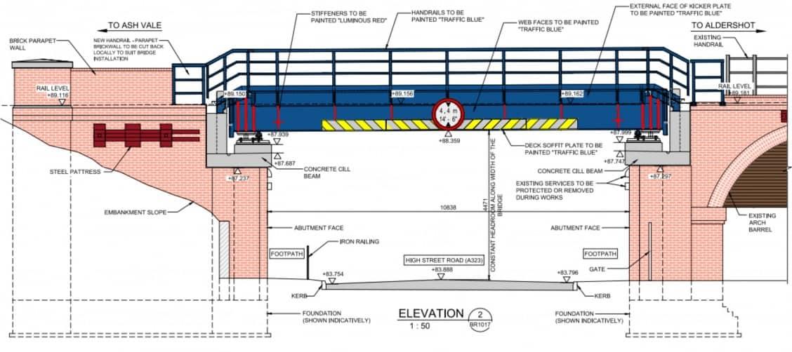 Railway Bridge plans 1