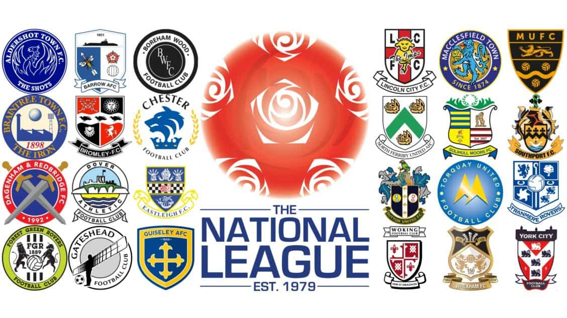 National League 16-17 badge montage full