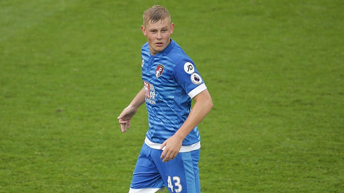 BOURNEMOUTH, UK, 3RD SEPTEMBER, 2016. Callum Buckley of Bournemouth during Warren Cumming's Testimonial game between Bournemouth and AC Milan at Vitality Stadium, Bournemouth, England on 3 September 2016. Photo by Robin Jones/Digital South.