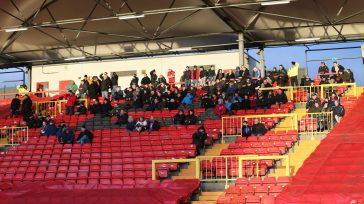 Gateshead away fans (1)