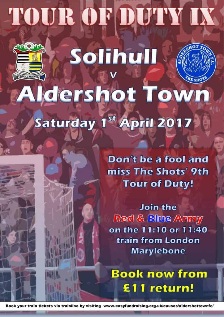 Tour of Duty IX Poster Solihull ATFC