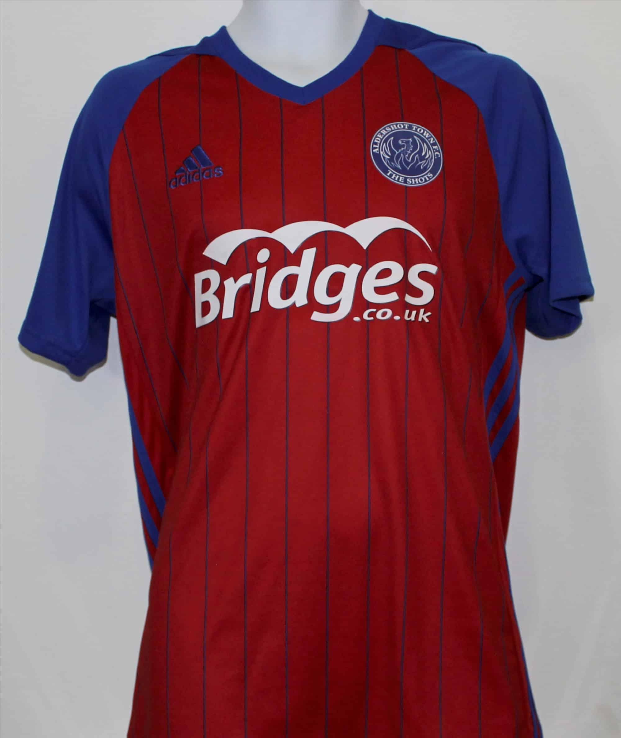 e1ba373cc Adult Aldershot Town FC Home shirt 18 19