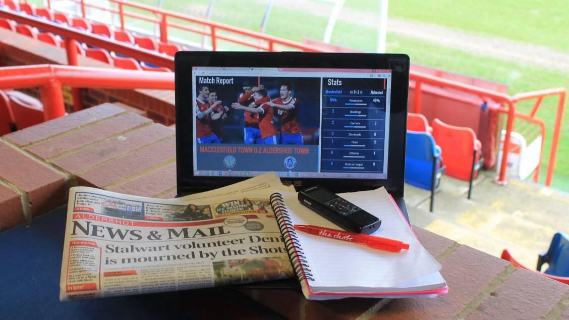 Media Manager Vacancy | Aldershot Town FC