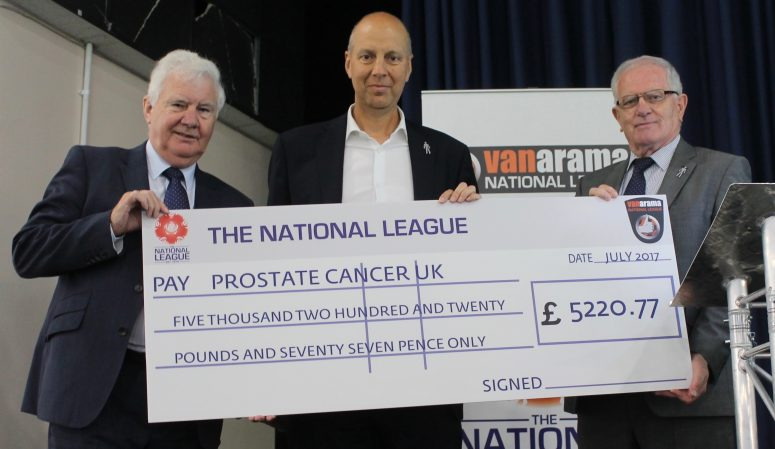 Prostate Cancer cheque (1)