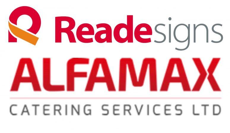 Reade Signs Alfamax logos (1)