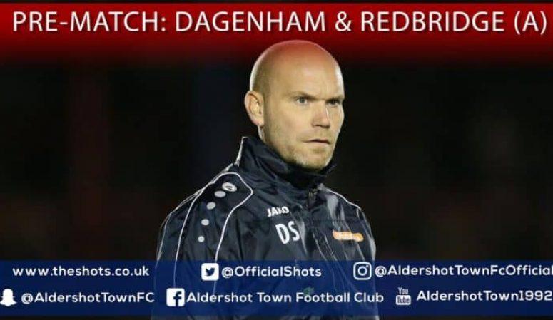 Danny Searle Post-Match: Dagenham & Redbridge (A)