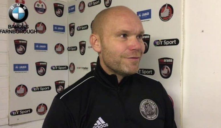 Danny Searle Post-Match Reaction: Hartlepool United (H)