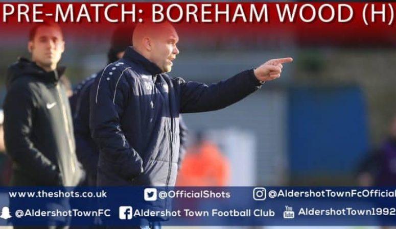 Danny Searle Pre-Match: Boreham Wood (H)