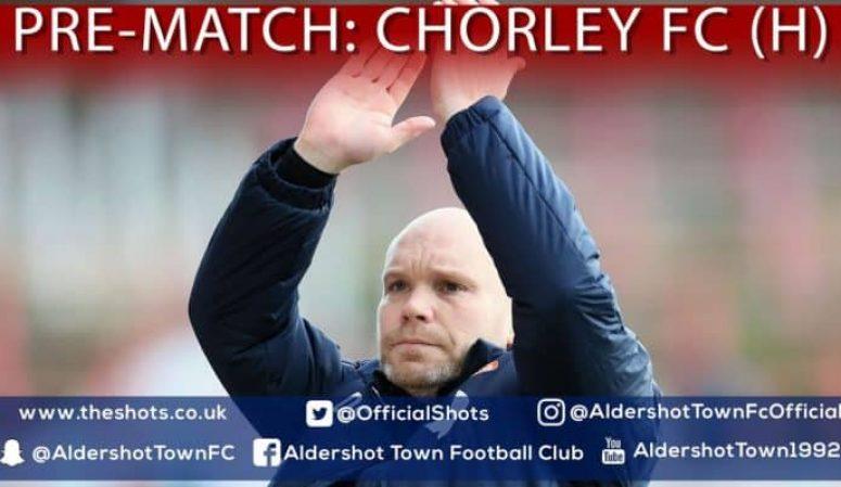 Danny Searle Pre-Match: Chorley FC (H)