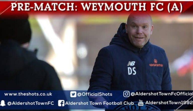 Danny Searle Pre-Match: Weymouth FC (A)