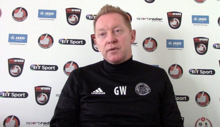 Gary Waddock – Boreham Wood preview