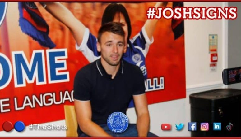 INTERVIEW: #JoshSigns   Josh Rees commits to the Shots for 20/21!