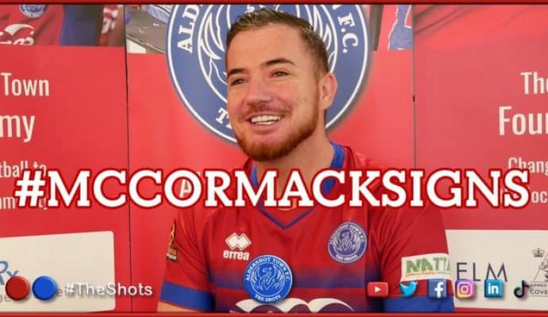 INTERVIEW: #McCormackSigns | Ross McCormack joins the Shots!