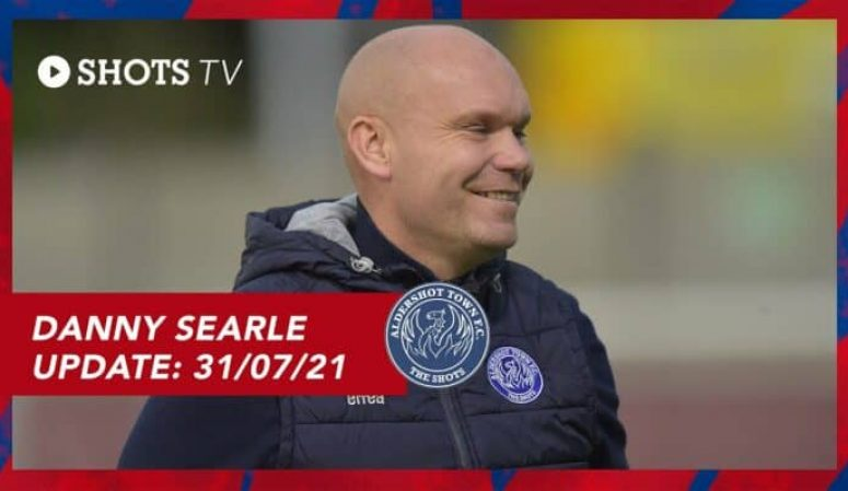 INTERVIEW: Update from Danny Searle (31st July 2021)