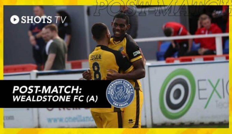 Jayden Harris Post-Match: Wealdstone FC (A)