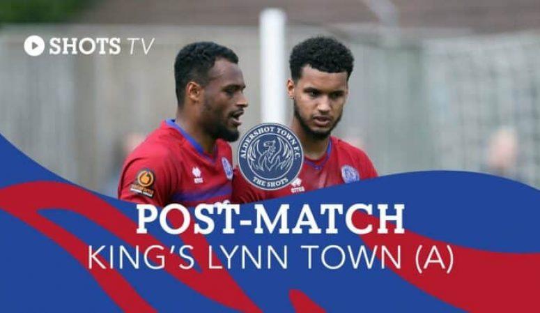 Kodi Lyons-Foster Post-Match: King's Lynn Town (A)