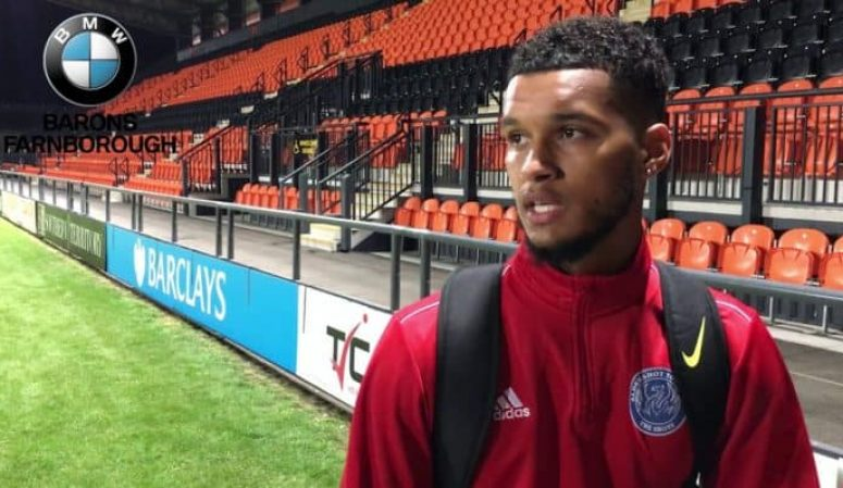 Kodi Lyons-Foster Post-Match Reaction: Barnet FC