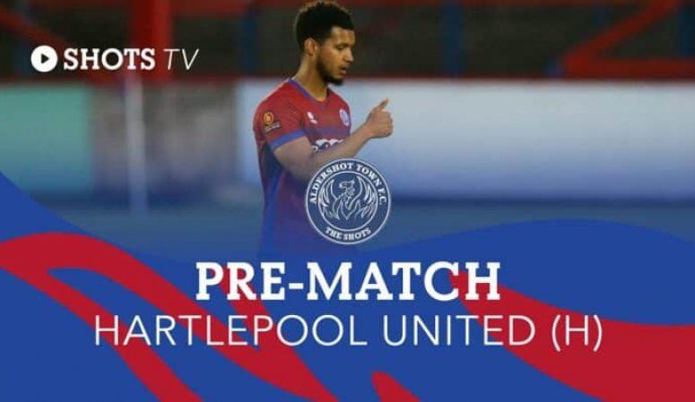 Kodi Lyons-Foster Pre-Match: Hartlepool United (H)