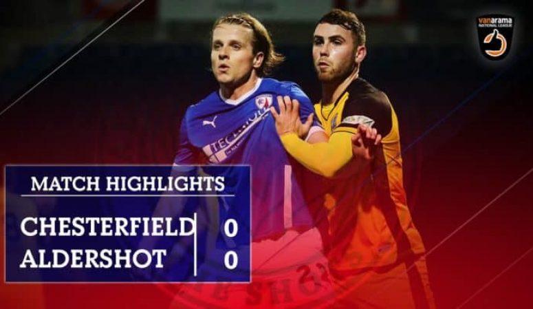 MATCH HIGHLIGHTS: Chesterfield (A)