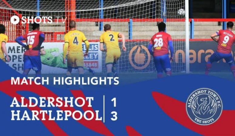 MATCH HIGHLIGHTS: Hartlepool United (H)
