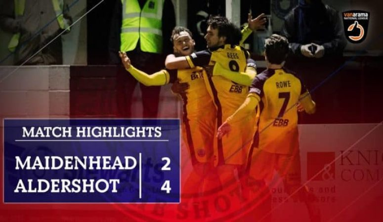 Match Highlights: Maidenhead United (A)