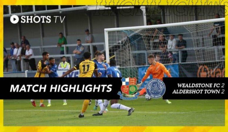 Match Highlights: Wealdstone FC (A) (Vanarama National League)