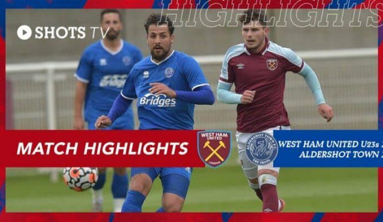 Match Highlights: West Ham United u23s (A) (Pre-Season Friendly)