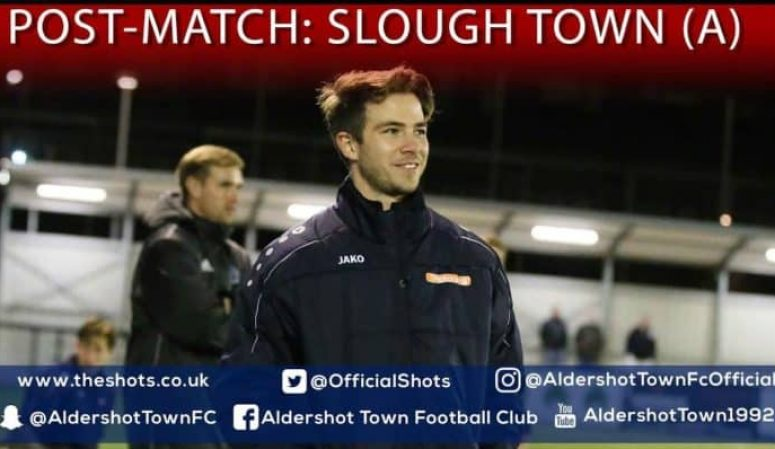 Michael Koopowitz Post-Match: Slough Town (A)