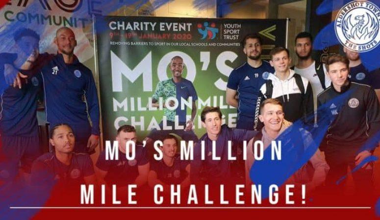 Mo's Million Mile Challenge!