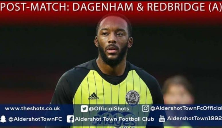 Shamir Mullings Post-Match: Dagenham & Redbridge (A)